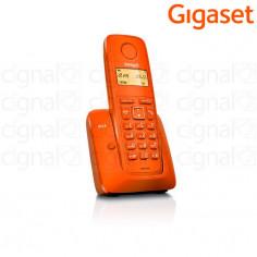 Teléfono Inalámbrico Gigaset A120 Naranja