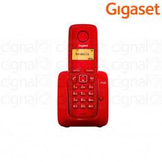 Teléfono Inalámbrico Gigaset A120 Rojo