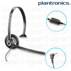 Headset Monoaural Plantronics M214C plug 2,5mm