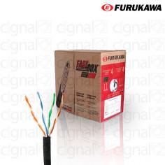 Bobina de Cable SOHO Furukawa UTP Cat. 5e Externo Negro