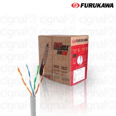Bobina de Cable Furukawa UTP Cat. 5e interno Gris