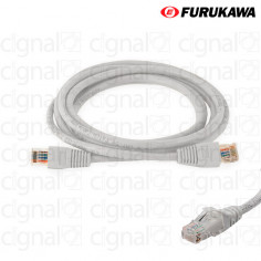 Patch Cord FURUKAWA 1,5mts CAT 6A Gris