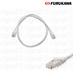 Patch Cord FURUKAWA 0,5mts CAT 5e Gris