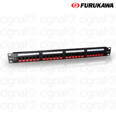 Patchera Furukawa 35030162 Multilan Categoria 6 24 puertos Rj45