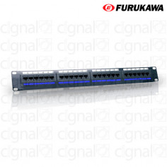 Patchera Furukawa Multilan Categoria 5e 24 puertos Rj45