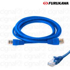 Patch Cord FURUKAWA 1,5mts CAT 5e Azul
