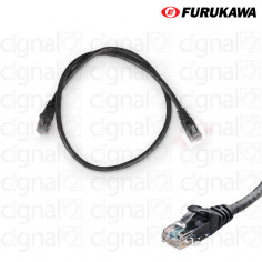 Patch Cord FURUKAWA 0,5mts CAT 5e Negro