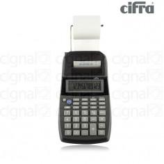 Calculadora Cifra Pr-22 con Impresor Negro - Adaptador 220v