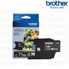 Cartucho de tinta Brother LC 75BK XL Negro