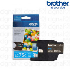 Cartucho de tinta Brother LC 75C XL Cyan