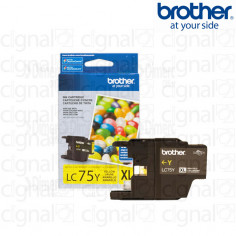 Cartucho de tinta Brother LC 75Y XL Amarillo
