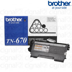 Cartucho Toner Brother TN-670