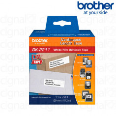 Cinta Brother DK-2211 Continua Durable 3.0 cm. x 15.24 m.