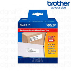 Cinta Brother DK-2210 Continua 2.9 cm. x 30.48 m.