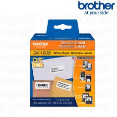 Cinta Brother DK-1209 precortada 2.9 x 6.2 cm. x 800u.