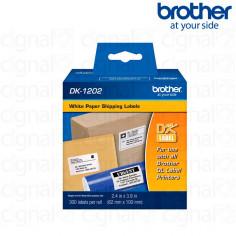 Cinta Brother DK-1202 Precortada 6.2 x 10 cm. x 300u.