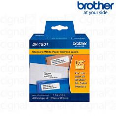 Cinta Brother DK-1201 Precortada 2.9 x 9.0 cm. x 400u
