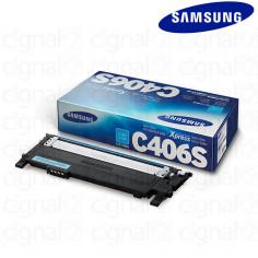 Cartucho Toner Samsung CLT-C406S CIAN