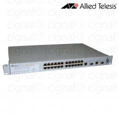 Switch ALLIED Telesis AT FS750/24 24 Puertos + 2 Gigabit SFP