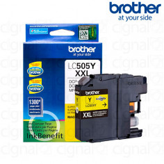 Cartucho de tinta Brother LC 505Y XXL Amarillo