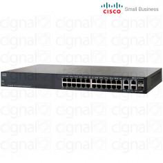 Switch Cisco SG300-28 Small Business 24 Puertos SRW2024