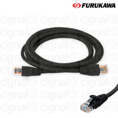 Patch Cord FURUKAWA 2,5mts CAT 5e Negro