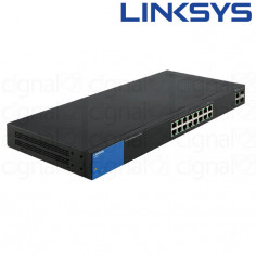 Switch Linksys LGS318P SMB 18 Puertos 10/100/1000 POE+