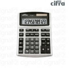 Calculadora de Escritorio Cifra DT-980CT