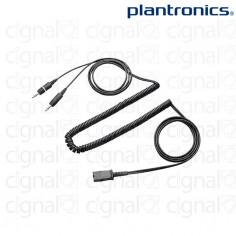 Cable Para PC Adaptador Plantronics QD/Plug de 3,5mm