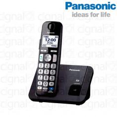 Teléfono Panasonic inalámbrico digital KX-TGE210