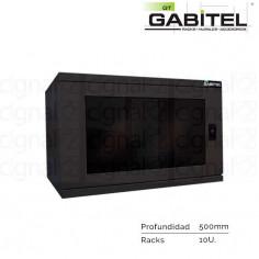 Rack Mural Gabitel M-CD-10U5N de 10U Compacto Negro