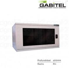 Rack Mural Gabitel M-CD-6U4B de 6U Compacto Beige