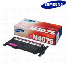 Cartucho Toner Samsung CLT-M407S Magenta