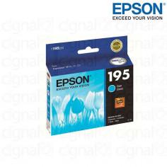 Cartucho EPSON T195220-AL Cian Capacidad Estandar Para XP-201