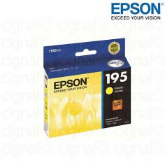 Cartucho EPSON T195420-AL Amarillo Capacidad Estandar Para XP-201