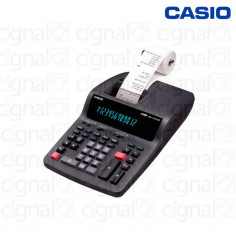 Calculadora Casio DR-120TM Con Impresor Negra