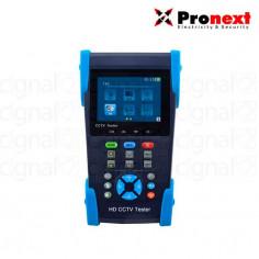 Tester CCTV Pronext TE401 Compatible Con Cámaras Analógicas, AHD, CVI y TVI5Vdc
