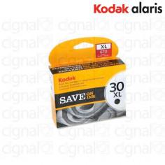 Cartucho Tinta Kodak Alaris 30XL Negro