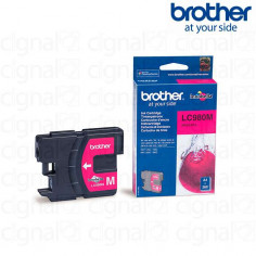 Cartucho de tinta Brother LC 980M Magenta