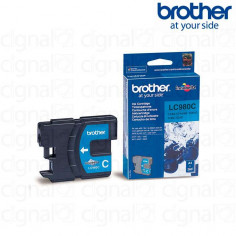 Cartucho de tinta Brother LC 980C Cyan