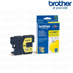Cartucho de tinta Brother LC 980Y Amarillo