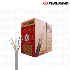 Bobina de Cable Furukawa UTP Cat. 6 interno Gris x 305 Mts.