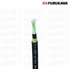 Cable Óptico Dieléctrico Furukawa CFOA-SM AS120 12F