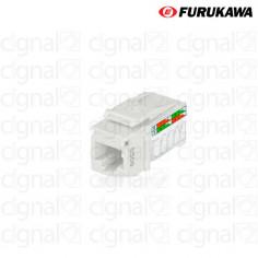 Jack Furukawa RJ45 Cat 6 GigaLan Blanco