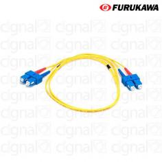 Patch Cord Duplex Furukawa OM4 SC-UPC/SC-UPS 2,5 Mts