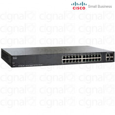 Switch Cisco SG200-26P Small Business 24 Puertos SLM2024PT