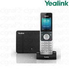 Teléfono Inalámbrico IP Yealink W56P de 5 líneas